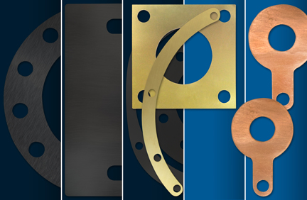 Brass and copper shims